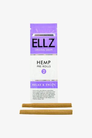 Hemp pre rolls ellz original grape